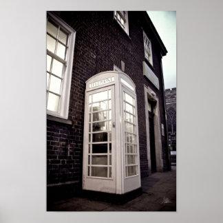 The Phone Box [Print] Poster
