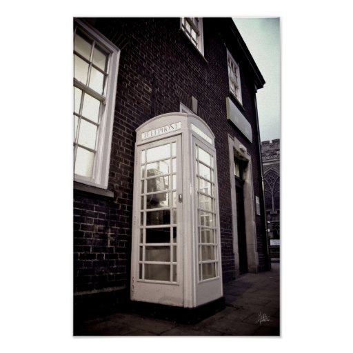 The Phone Box [Print] Poster