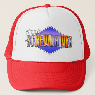 The Phonic Screwdriver Logo Trucker Hat