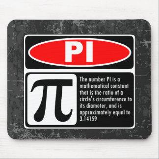 The Pi Explaination Mouse Pad