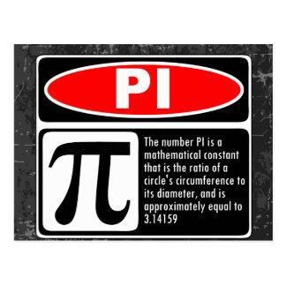 The Pi Explaination Postcards