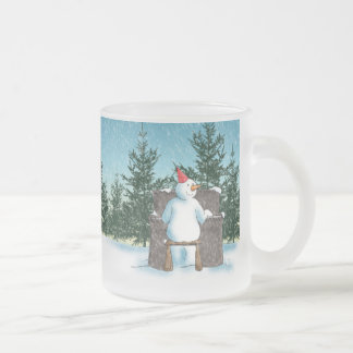 The Pianist Frosted Glass Mug