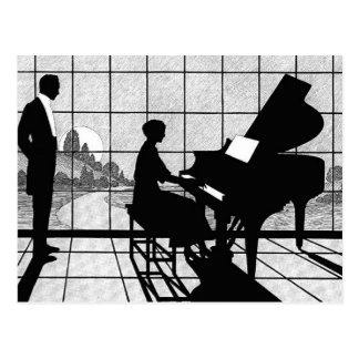 The Pianist Postcard