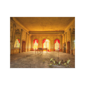 The piano stretched canvas prints