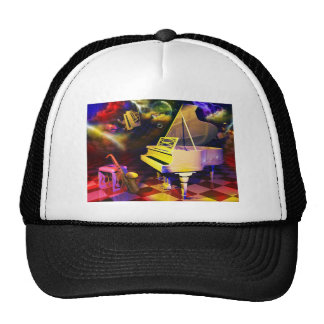 The Piano Mesh Hats