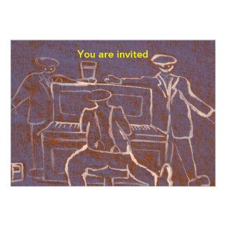 (The piano man) Invitation