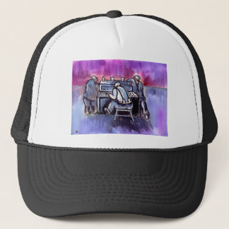 THE PIANO PLAYER TRUCKER HAT