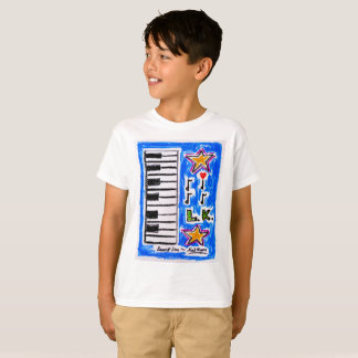 "The ""Piano Shirt"" for boys by Neil Myers T-Shirt"