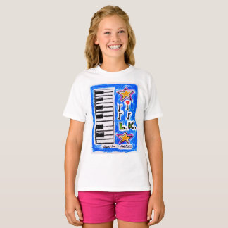 "The ""Piano Shirt"" for girls by Neil Myers T-Shirt"