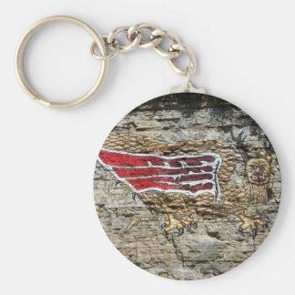 The Piasa Key Ring