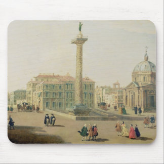 The Piazza Colonna, Rome Mouse Mat