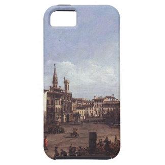 The Piazza della Signoria in Florence by Bernardo iPhone 5 Case