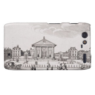 The Piazza in Covent Garden, 1647 (engraving) Droid RAZR Cases