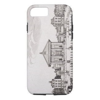 The Piazza in Covent Garden, 1647 (engraving) iPhone 7 Case