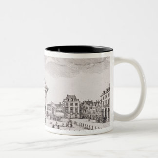 The Piazza in Covent Garden, 1647 (engraving) Coffee Mug