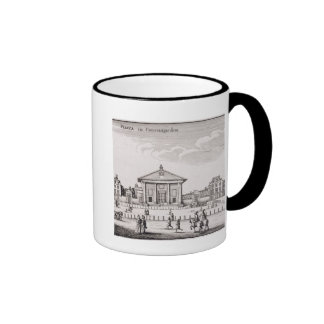 The Piazza in Covent Garden, 1647 (engraving) Ringer Mug
