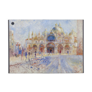 The Piazza San Marco, Venice, 1881 (oil on canvas) Case For iPad Mini