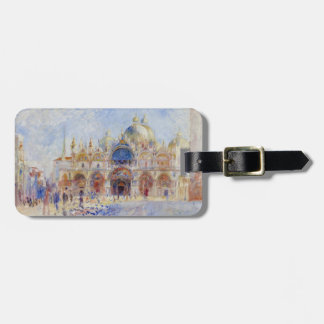 The Piazza San Marco, Venice, 1881 (oil on canvas) Luggage Tag