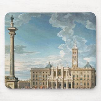 The Piazza Santa Maria Maggiore, 1752 Mouse Pad