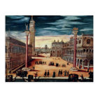 The Piazzetta di San Marco, Venice Postcard