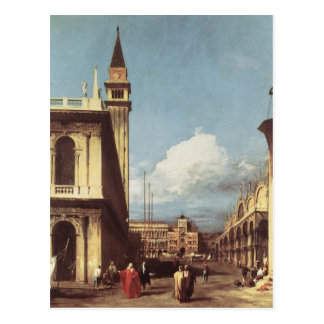 The Piazzetta, Looking toward the Clock Tower Postcard
