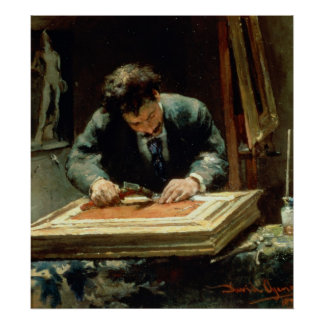 The Picture Framer, 1878 Poster