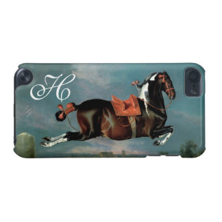 """The Piebald Horse """"Cehero' Rearing Monogram iPod Touch (5th Generation) Cases"""