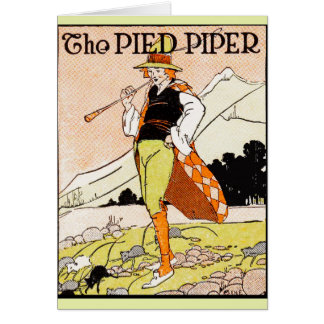 The Pied Piper Children's Nursery Card