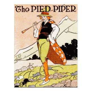 The Pied Piper Children's Nursery Postcard