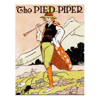 The Pied Piper Children's Nursery Postcard