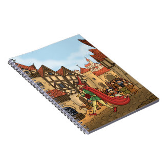 the pied piper the children fairytale notebook
