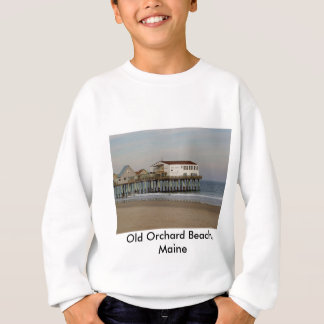 The Pier at Old Orchard Beach, Maine Sweatshirt