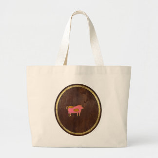 The Pig 2009 Large Tote Bag