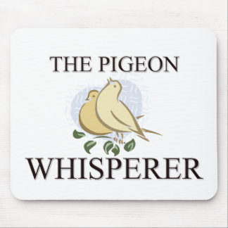 The Pigeon Whisperer Mouse Mat