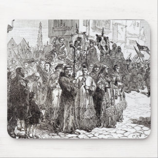 The Pilgrimage of Grace in 1536 Mouse Pad