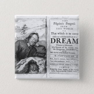 The Pilgrim's Progress' 15 Cm Square Badge