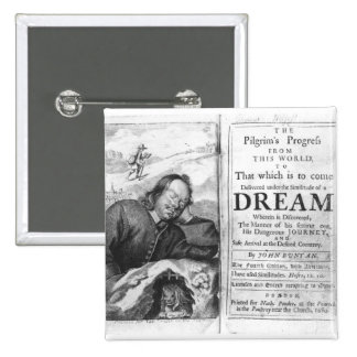 The Pilgrim's Progress' 15 Cm Square Badge