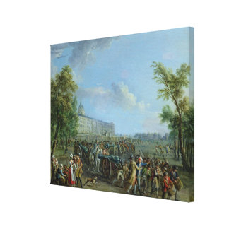 The Pillage of the Invalides, 14 July 1789 Canvas Print