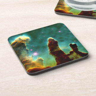 The Pillars of Creation Beverage Coasters