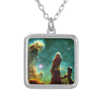 The Pillars of Creation Square Pendant Necklace
