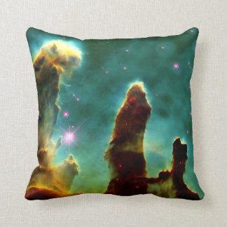 The Pillars of Creation Throw Pillows
