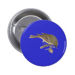 The Pine Warbler (Sylvicola pinus) Badge