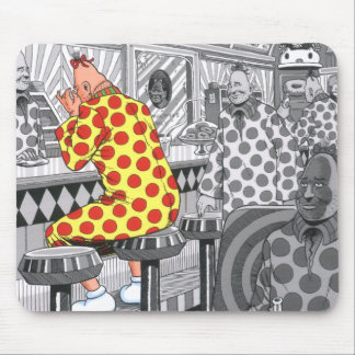 The Pinhead Diner Mouse Mat
