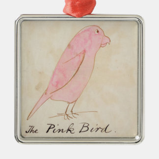 The Pink Bird, from 'Sixteen Drawings of Comic Bir Christmas Ornament