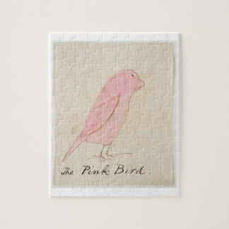 The Pink Bird, from 'Sixteen Drawings of Comic Bir Jigsaw Puzzle