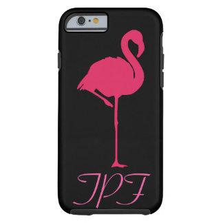 The pink flamingo tough iPhone 6 case