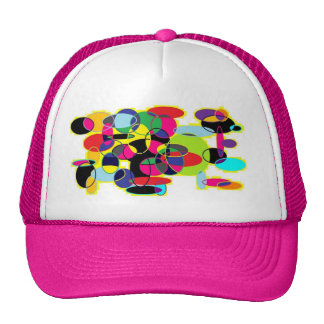 The pink hat with rounds