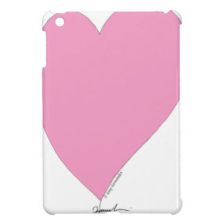 the pink hearts iPad mini cover