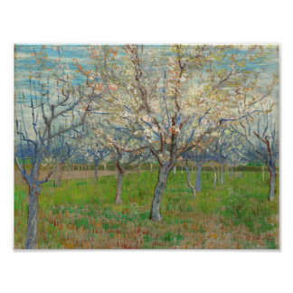 The Pink Orchard Arles, beginning of April 1888 Vi Poster