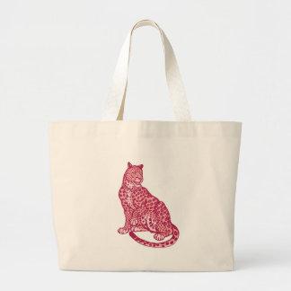 The Pink Panthers Jumbo Tote Bag
